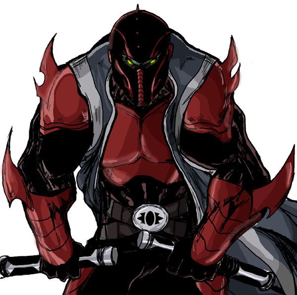 Sith Dark Lord Morbis from Star Wars X