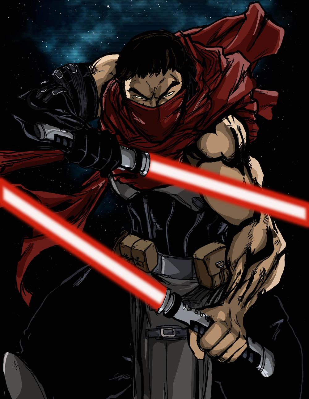 Darth nai'kage from star wars x