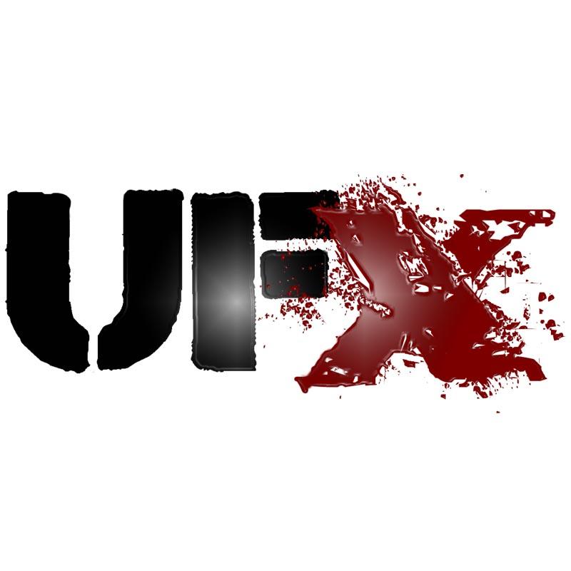 Black UFX Logo