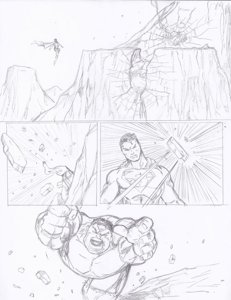 Episode 01: Superman vs Hulk - Page 07