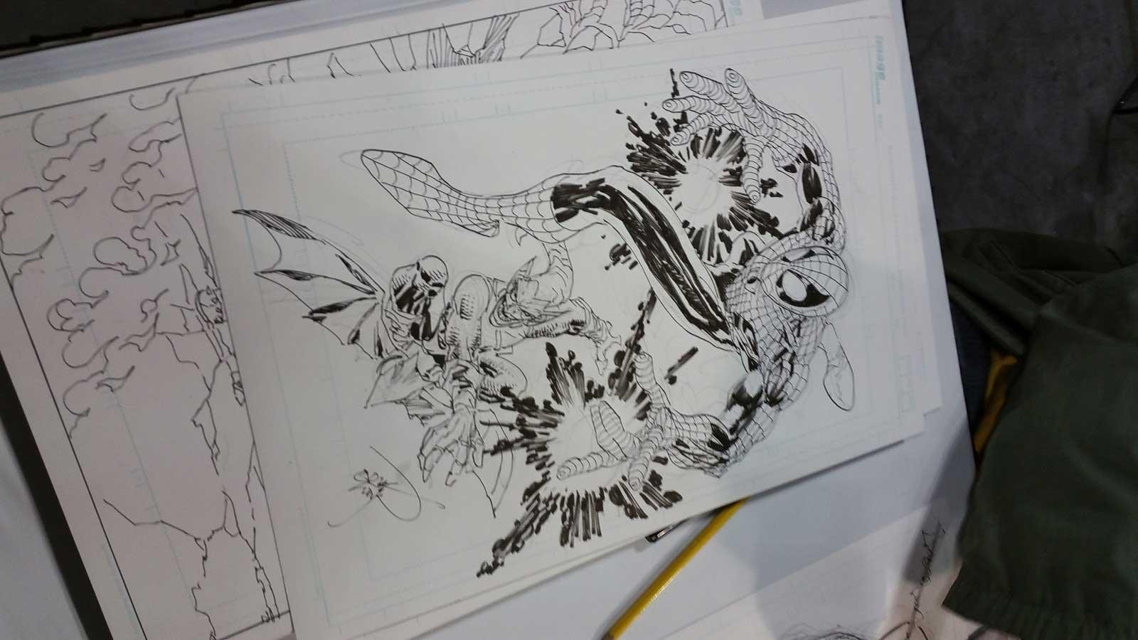 nyc-comiccon-spiderman-artwork-eric-larsen